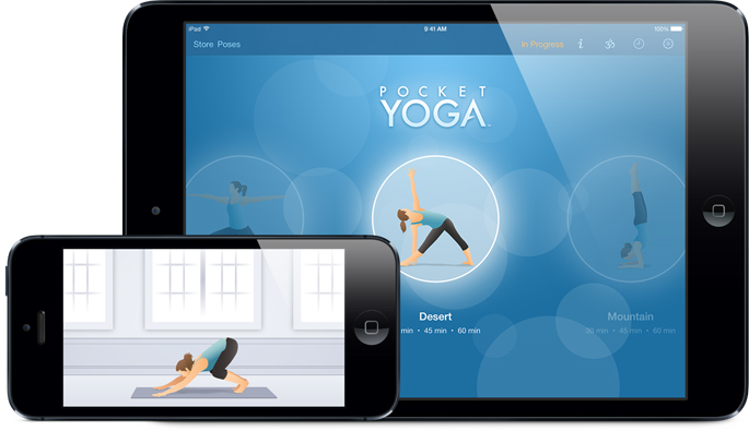 Pocket Yoga iPhone and iPad