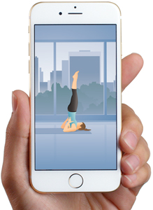 Pocket Yoga iphone with full yoga class
