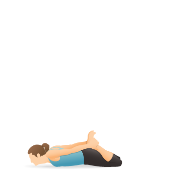 Yoga Pose: Bow (Preparation)