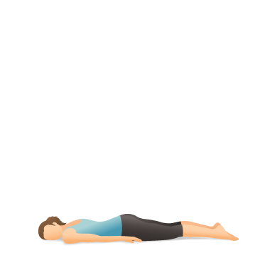 Yoga Pose: Front Corpse