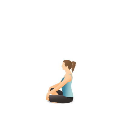 Yoga Pose: Easy (Sukhāsana)