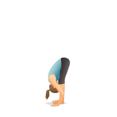 Yoga Pose: Standing Forward Bend (Uttānāsana)