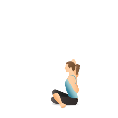 Yoga Pose: Cow Face (Gomukhāsana)