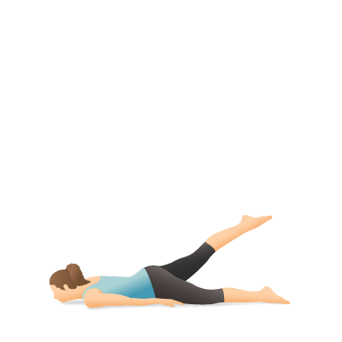 Yoga Pose: Half Locust | Pocket Yoga
