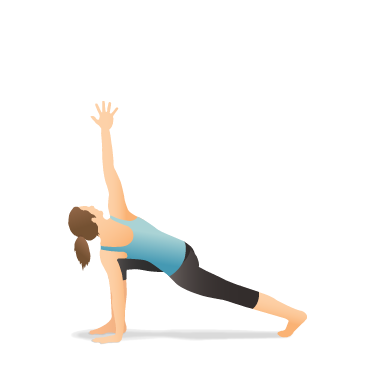 Yoga Pose: Lunge with Arm Extended Up