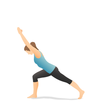 Yoga Pose: Crescent Lunge Forward Bend