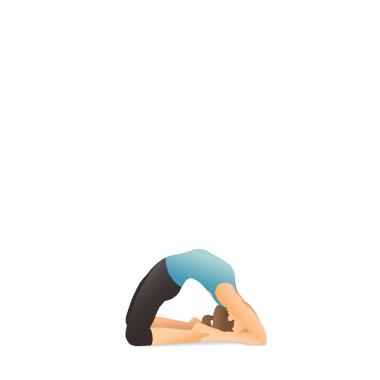 yoga pose pigeon  pocket yoga