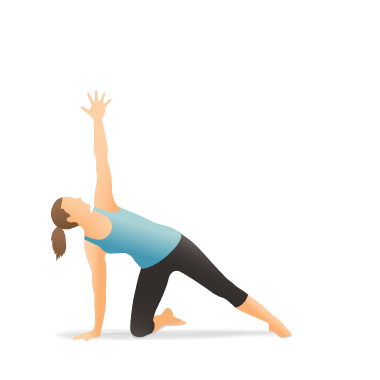Yoga Pose: Side Plank on the Knee