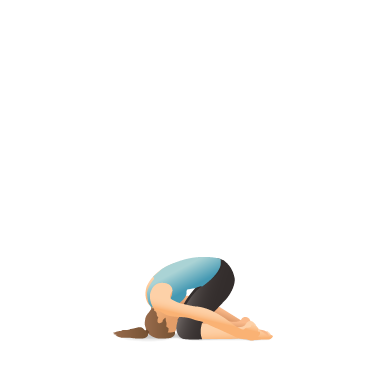 Yoga Pose: Rabbit (Sasangāsana)