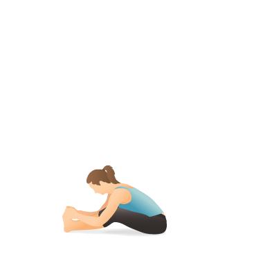 yoga pose seated forward bend  pocket yoga
