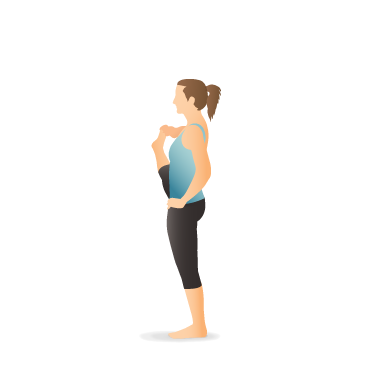 yoga pose extended standing hand to toe  pocket yoga
