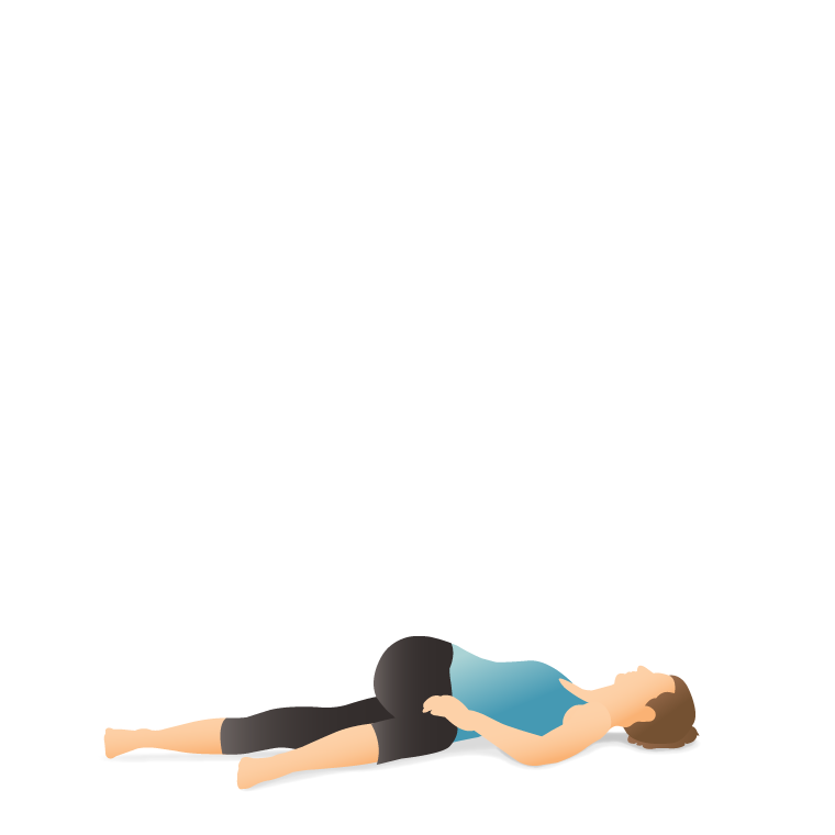 Yoga Pose Supine Spinal Twist Pocket Yoga